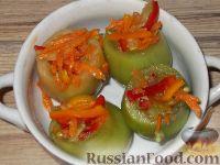 Фото приготовления рецепта: Фаршированные зеленые помидоры - шаг №8
