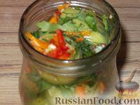 Фото приготовления рецепта: Фаршированные зеленые помидоры - шаг №10