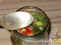 Фото приготовления рецепта: Фаршированные зеленые помидоры - шаг №11
