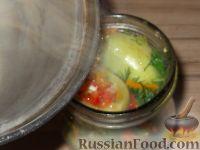 Фото приготовления рецепта: Фаршированные зеленые помидоры - шаг №13