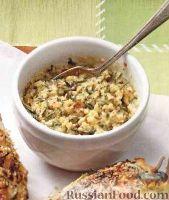 Фото к рецепту: Чесночный соус с травами