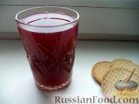 Фото к рецепту: Кисель смородиновый