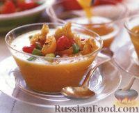 Фото к рецепту: Холодный овощной суп-пюре