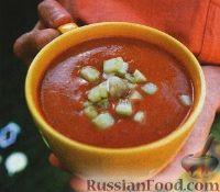 Фото к рецепту: Испанский суп-пюре гаспачо