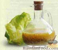 Фото к рецепту: Масляная заправка для овощных салатов