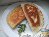 Фото к рецепту: Чебуреки домашние