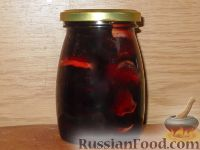 Фото к рецепту: Варенье из яблок и брусники