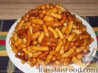 Фото к рецепту: Чак-чак (татарское блюдо)