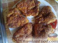 Фото к рецепту: Биточки в панировке (куриные отбивные)