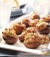 Фото к рецепту: Фаршированный картофель, запеченный на гриле