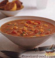 Фото к рецепту: Пряный африканский суп с нутом