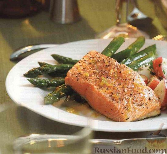 как приготовить лосось в духовке фото рецепт