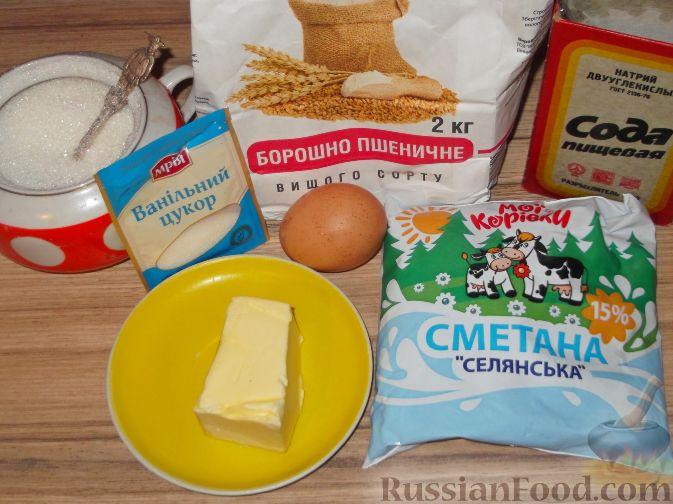 Рецепт по приготовлению песочного печенья