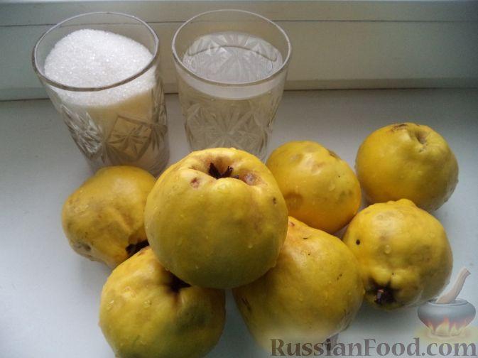 Фото приготовления рецепта: Варенье из айвы (из старинных рецептов) - шаг №1