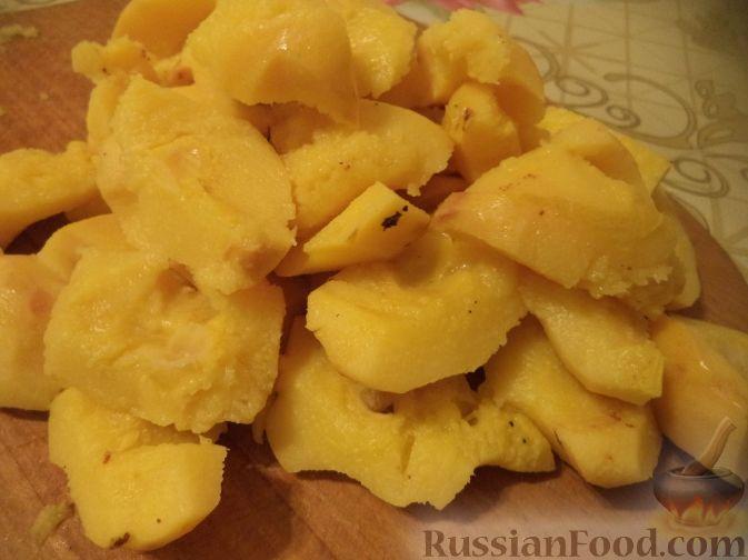 Фото приготовления рецепта: Варенье из айвы (из старинных рецептов) - шаг №4