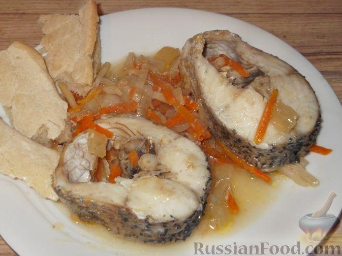 рецепт рыба тушенная в духовке