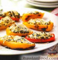 Фото к рецепту: Закусочные фаршированные перцы