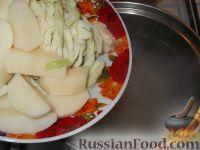 Фото приготовления рецепта: Борщ украинский с мясом - шаг №13