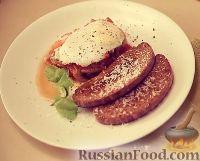Фото к рецепту: Яйца с томатно-грибным соусом