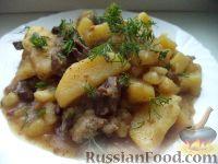 Фото к рецепту: Куырдак по-казахски