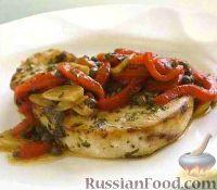 Фото к рецепту: Рыба-меч с соусом