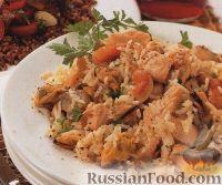 Фото к рецепту: Плов с морепродуктами