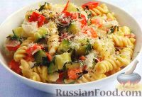 Фото к рецепту: Паста с овощным соусом