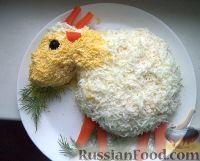 """Фото к рецепту: Салат """"Коза"""""""