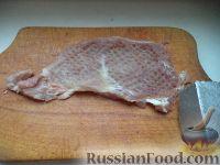 Фото приготовления рецепта: Мясо по-строгановски с грибами - шаг №2