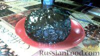 Фото к рецепту: Шоколадный кекс в кружке