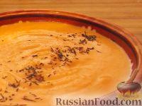 Фото к рецепту: Суп-пюре из яблок и тыквы