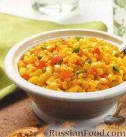Фото к рецепту: Горячий кукурузный салат