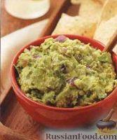 Фото к рецепту: Соус гуакамоле с луком, перцем и специями