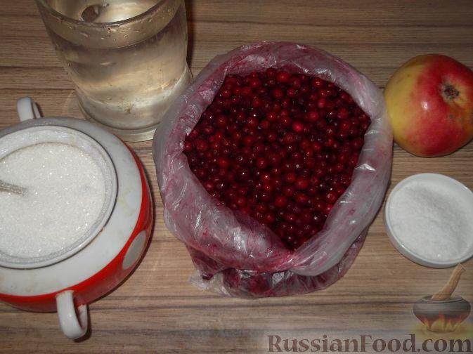 Фото приготовления рецепта: Моченая брусника. Способ 2 - шаг №1