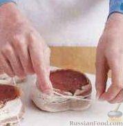 Фото приготовления рецепта: Фаршированные яйца с гречнево-грибной начинкой - шаг №9