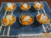 """Фото к рецепту: Закуска из тунца и сыра """"Стаканчики""""-2"""