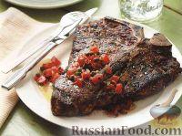 Фото к рецепту: Говяжий стейк на гриле