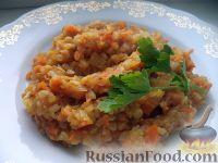 Фото к рецепту: Каша гречневая с тыквой и овощами