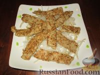 Фото к рецепту: Тунец в кунжуте