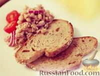 Фото к рецепту: Салат из фасоли и тунца
