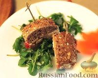 Фото к рецепту: Сэндвич средиземноморский