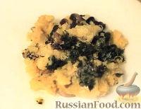 Фото к рецепту: Кукурузная каша с грибами