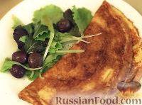 Фото к рецепту: Омлет с газировкой и сыром