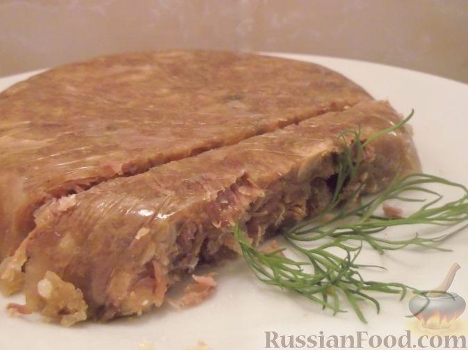 холодец из говяжьих и свиных ножек рецепт с фото пошагово