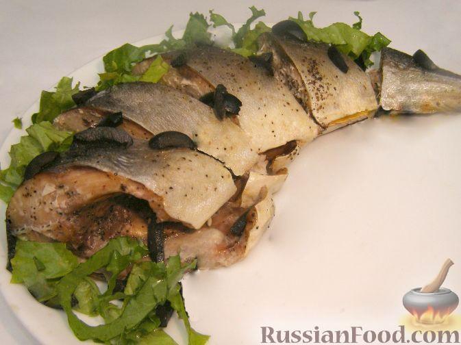 тунец в духовке рецепт фото