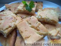 Фото к рецепту: Очень быстрый пирог с капустой