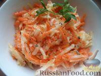 Фото к рецепту: Салат из моркови с редькой