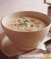 Фото к рецепту: Молочный суп-пюре с пикшей