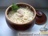 Фото к рецепту: Пшенная каша в горшочках