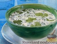 Фото к рецепту: Холодный кокосовый суп